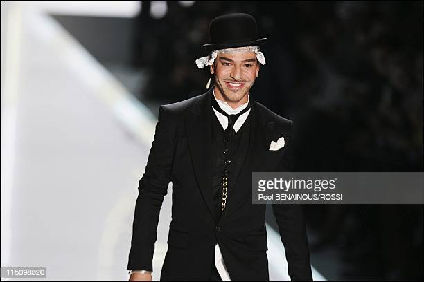 Christian Dior SpringSummer 2005 ready to wear fashion show in Paris France on October 05 2004 John Galliano the designer