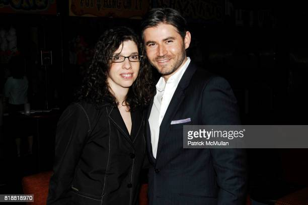 Christian Edwards and Tina Andreadis attend LITERACY ASSOCIATES Second Annual Benefit for LITERACY PARTNERS at Carnival on April 27 2010 in New York...
