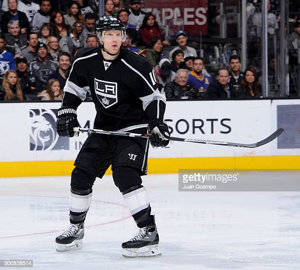 Christian Ehrhoff of the Los Angeles Kings skates during the game against the Tampa Bay Lightning on December 6 2015 at STAPLES Center in Los Angeles...