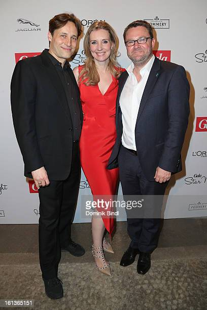 Christian Elsen Jette Joop and Christian Krug attend the Gala Star Night during the 63rd Berlinale International Film Festival at the Stue Hotel on...
