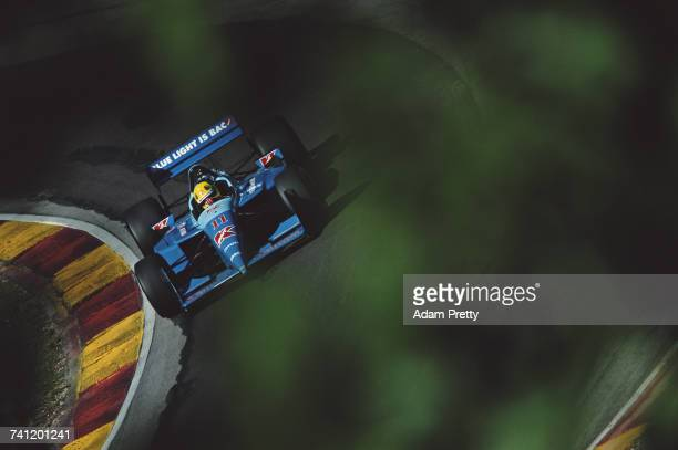 Christian Fittipaldi of Brazil drives the Newman/Haas Racing Lola B01/00 Toyota RV8F during the Championship Auto Racing Teams 2001 FedEx...