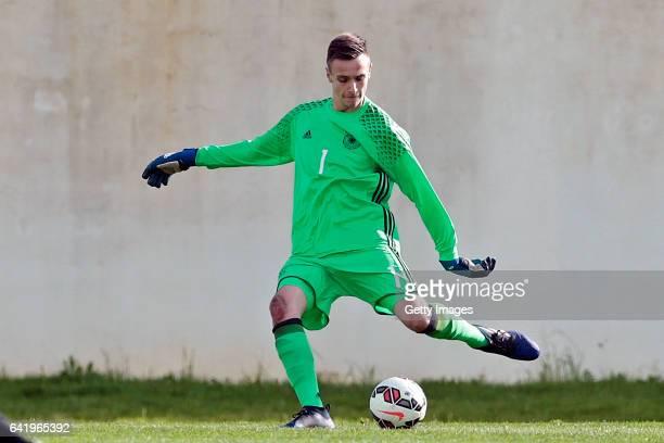 Christian Früchtl of Germany U17 during the U17 Algarve Cup Tournament Match between Portugal U17 and germany U17 on February 14 2017 in Ferreiras...