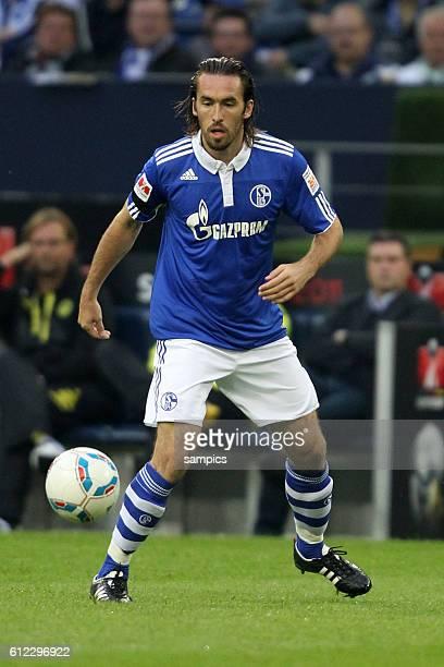 Christian Fuchs Schalke 04 Fussball Supercup 2011 Schalke 04 gegen Borussia Dortmund Bundesliga Saison 2011 / 2012