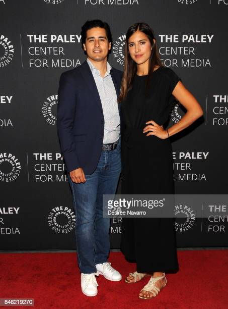 Christian Gabela and Camila Jimenez Villa attend Paley Center Presents an Exclusive Look Inside 'El Chapo' Season 2 at The Paley Center for Media on...