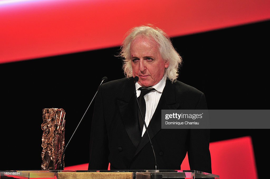 Christian Gasc receives the Best Costume Design Cesar for 'Les adieux a la reine' during the 37th Cesar Film Awards Cesar Film Awards 2013 at Theatre du Chatelet on February 22, 2013 in Paris, France.