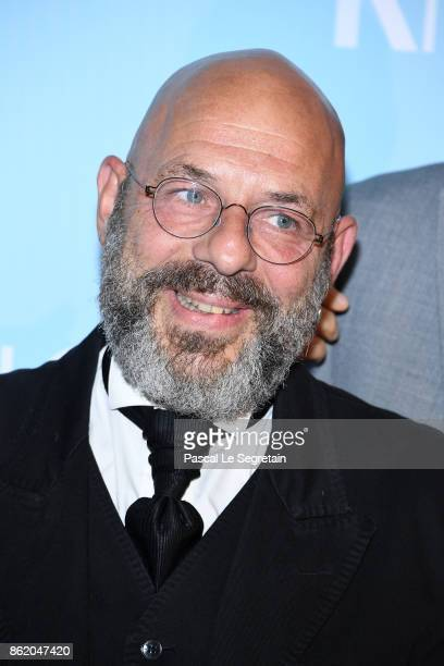 Christian Hecq attends 'Knock' Premiere at Cinema UGC Normandie on October 16 2017 in Paris France