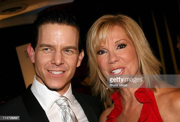 Christian Hoff winner of Best Performance by a Featured Actor in a Musical for 'Jersey Boys' and Kathie Lee Gifford