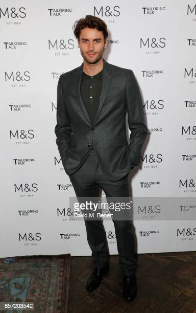 Christian Jorgensen attends the MS Tailoring Talk on October 3 2017 in London England