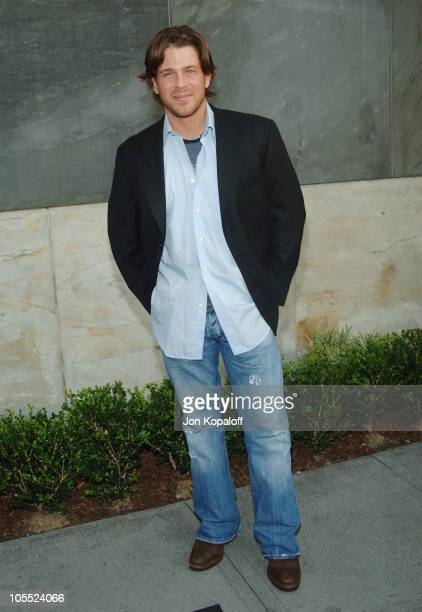 Christian Kane during CBS Summer 2005 Press Tour Party at Hammer Museum in Westwood California United States