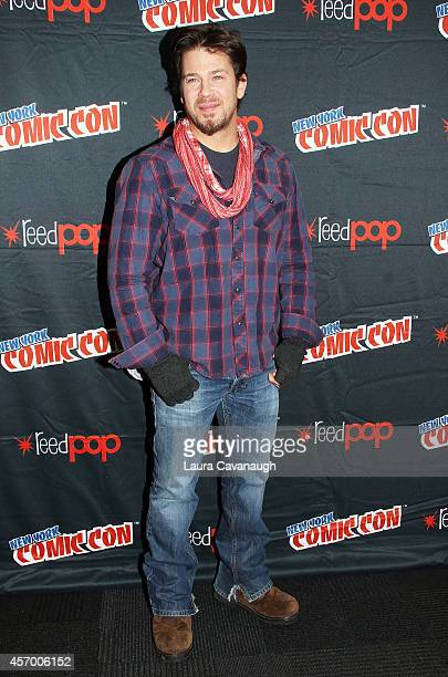 Christian Kane in the Press Room for 'The Librarians' at 2014 New York Comic Con Day 2 at Jacob Javitz Center on October 10 2014 in New York City