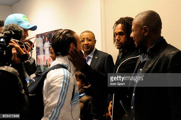 Christian Karembeu / Mathiue VALBUENA Marseille / Rennes 11eme journee de Ligue 1