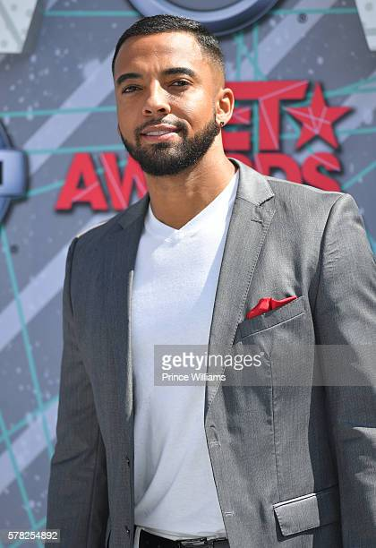 Christian Keyes attends the 2016 BET awards at Microsoft Theater on June 26 2016 in Los Angeles California
