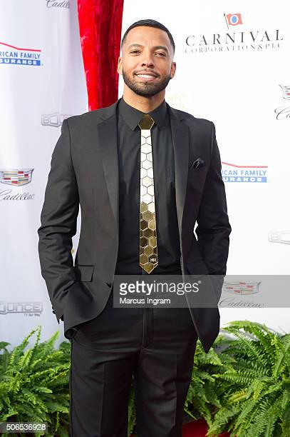 Christian Keyes attends the 2016 Trumpet Awards on January 23 2016 in Atlanta Georgia