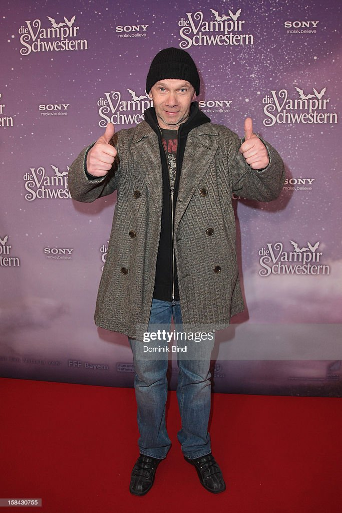 Christian Koch attends the 'Die Vampirschwestern' Germany Premiere on December 16, 2012 in Munich, Germany.