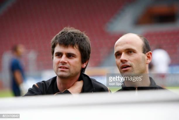 Christian LE BEC / Franck KERDILES Creteil / Plabennec 1ere journee de National Stade Charlety Paris