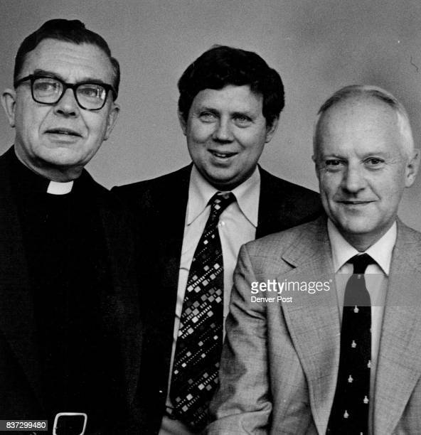 Christian League Representatives Arthur Lewis Fred Shaw and Frank Coleman from left They claim the United States is being fed 'gross misinformation'...