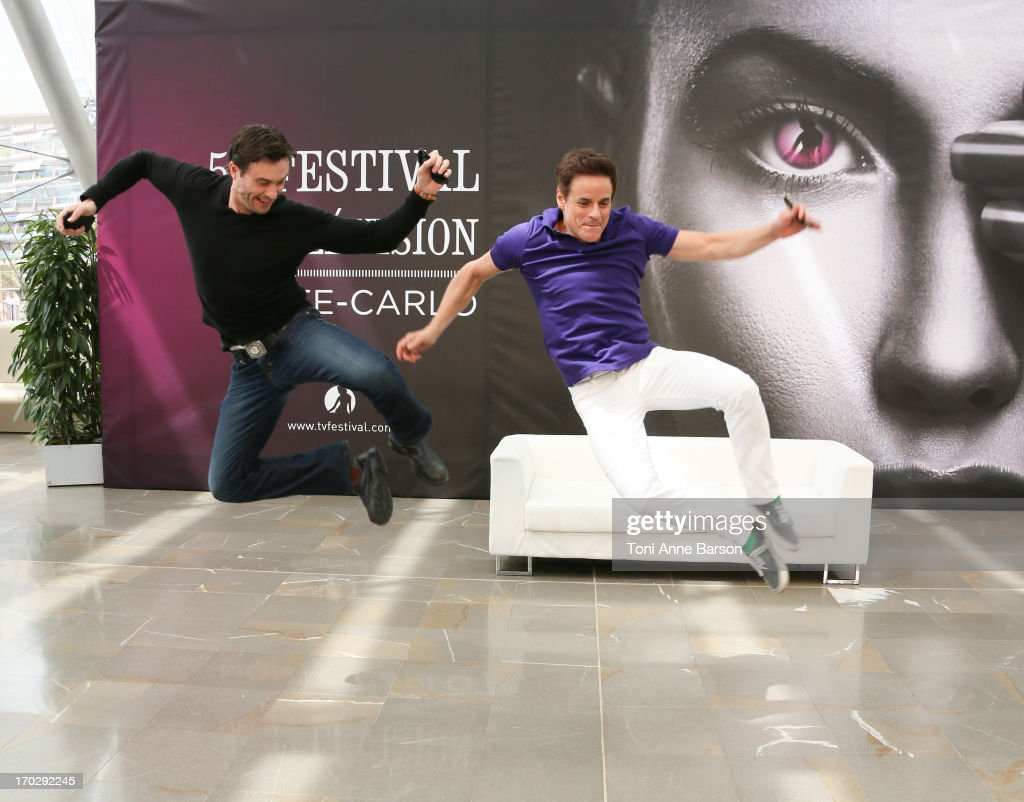 Christian Leblanc and Daniel Goddard attend 'The Young And The Restless' Photocall as part of the 53rd Monte Carlo TV Festival on June 10, 2013 in Monte-Carlo, Monaco.