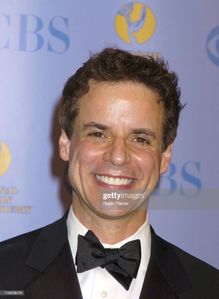 <a gi-track='captionPersonalityLinkClicked' href=/galleries/search?phrase=Christian+LeBlanc&family=editorial&specificpeople=624082 ng-click='$event.stopPropagation()'>Christian LeBlanc</a> during 32nd Annual Daytime Emmy Awards - Media Press Room at Radio City Music Hall in New York, New York, United States.