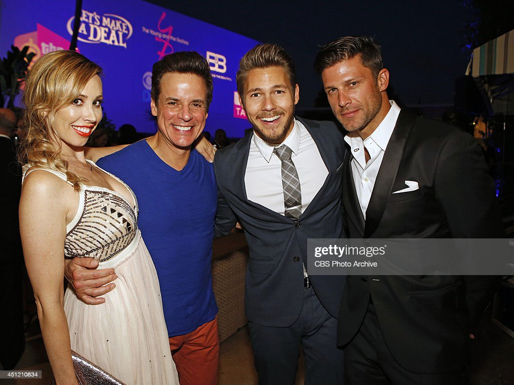 Christian LeBlanc, Scott Clifton and Burgess Jenkins attend The 41st Annual Daytime Emmy® Awards in Los Angeles on Sunday, June 22.