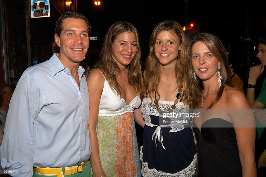 Christian Leone Dani Stahl Eleanor Ylvisaker and Ali Wise attend Foley Corinna Store Opening Party at Foley Corinna Store on June 8 2005