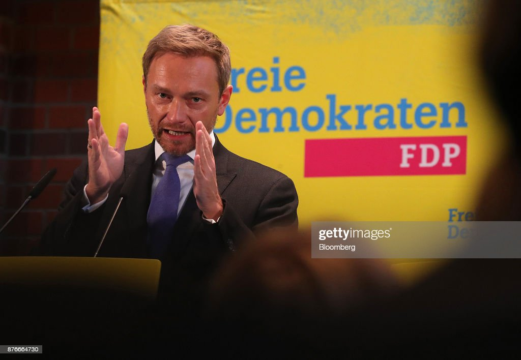 Free Democratic Party Leader Christian Lindner Holds News Conference Following Collapse Of German Coalition Talks