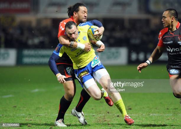 Christian Loamanu / BENOIT BABY Clermont / Toulon 20eme journee du Top 14