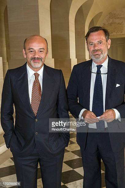 christian louboutin and louis benech