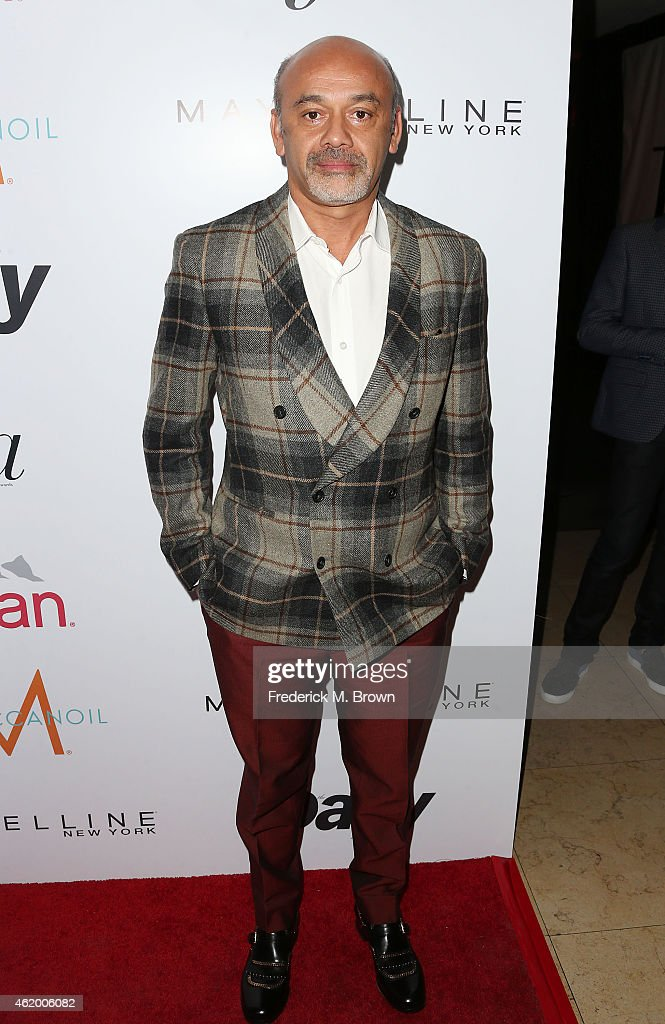 Christian Louboutin attends The DAILY FRONT ROW 'Fashion Los Angeles Awards' at the Sunset Tower Hotel on January 22 2015 in West Hollywood California
