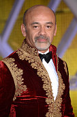 Christian Louboutin attends the Evening Tribute To Jeremy Irons as part of the 14th Marrakech International Film Festival on December 6 2014 in...