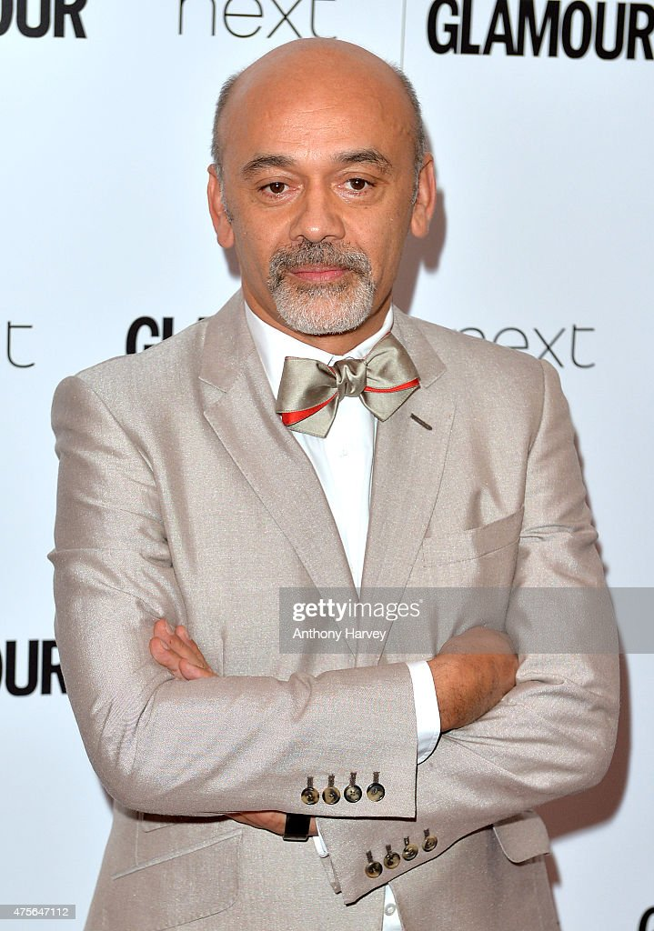 Christian Louboutin attends the Glamour Women Of The Year Awards at Berkeley Square Gardens on June 2 2015 in London England