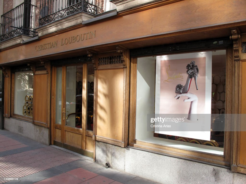 christian louboutin shop in madrid