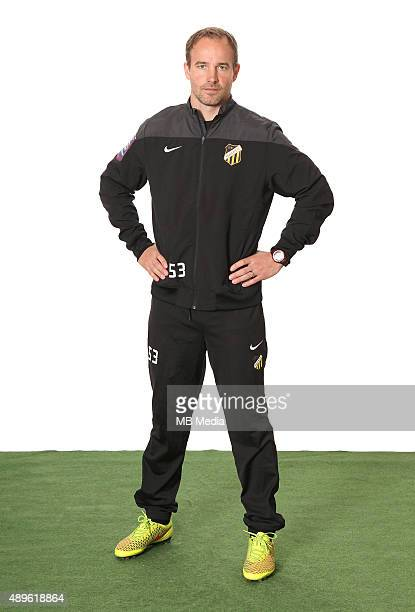 Christian Lundstrom Assistant Coach of BK Hacken poses during a portrait session on February 26 2015 in GothenburgSweden