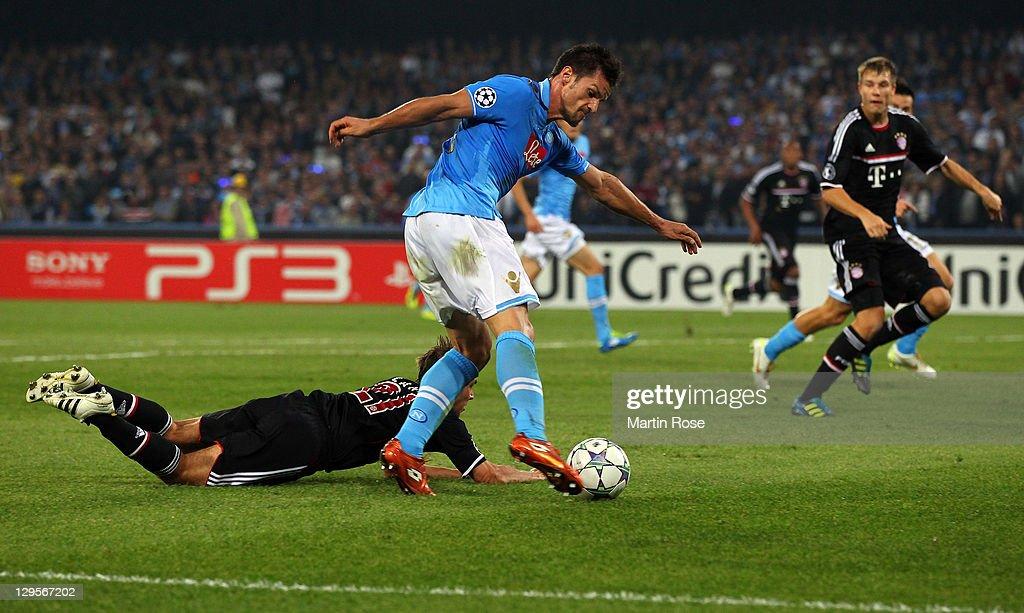 SSC Napoli v FC Bayern Muenchen - UEFA Champions League