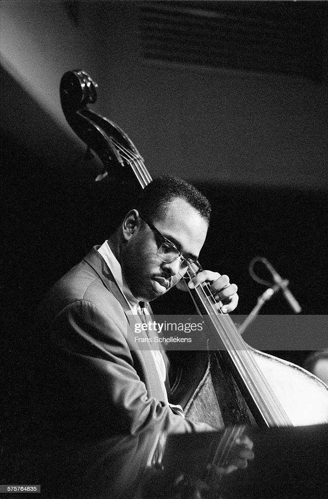 <a gi-track='captionPersonalityLinkClicked' href=/galleries/search?phrase=Christian+McBride&family=editorial&specificpeople=2558745 ng-click='$event.stopPropagation()'>Christian McBride</a>, bass, performs on April 8th 1994 at Vredenburg in Utrecht, Netherlands.