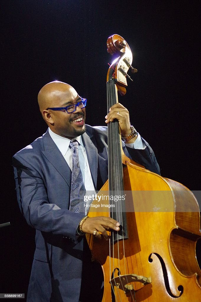 <a gi-track='captionPersonalityLinkClicked' href=/galleries/search?phrase=Christian+McBride&family=editorial&specificpeople=2558745 ng-click='$event.stopPropagation()'>Christian McBride</a>, Love Supreme Jazz Festival, Glynde Place, East Sussex, 2014. Artist: Brian O'Connor.