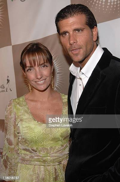 """Christian Meier and guest during People en Español's """"50 Most Beautiful"""" Celebration at Splashlight Studios Red Carpet at Splashlight Studios in New..."""