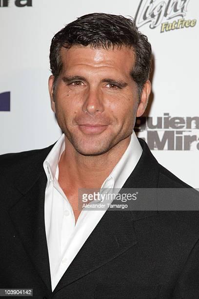 Christian Meier attends screening of Telemundo's 'Alguien Te Mira' at The Biltmore Hotel on September 7 2010 in Coral Gables Florida