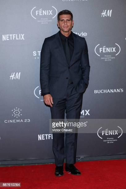 Christian Meier attends the Premio Iberoamericano De Cine Fenix 2017 at Teatro de La Ciudad on December 6 2017 in Mexico City Mexico