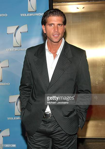 Christian Meier during 2007 Telemundo Upfront at Radio City Music Hall in New York City New York United States
