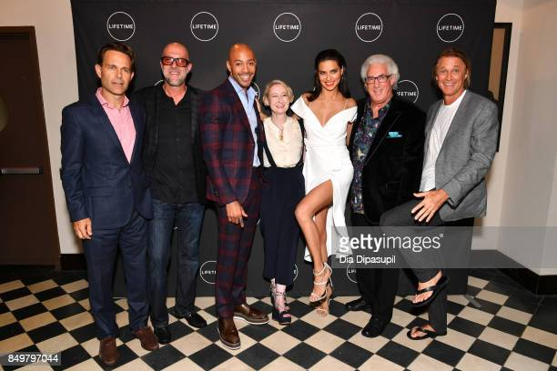 Christian Murphy Ross Elliot Sir John Sarah Brown Adriana Lima Norton Herrick and Russell James attend the 'American Beauty Star' premiere at...