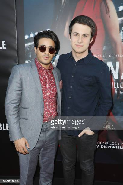 ¿Cuánto mide Dylan Minnette? - Altura - Real height Christian-navarro-and-dylan-minnette-arrive-at-the-netflix-s1-miami-picture-id653648050?s=612x612