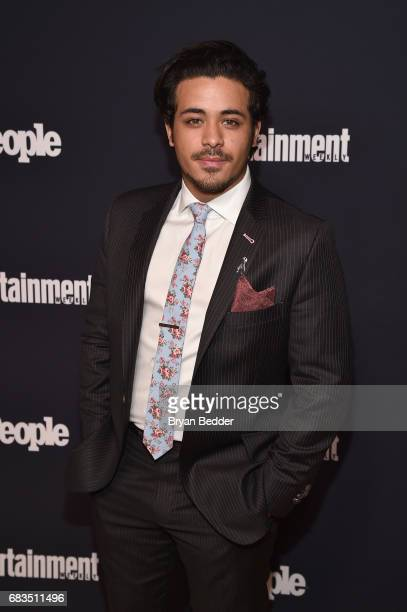 Christian Navarro attends the Entertainment Weekly and PEOPLE Upfronts party presented by Netflix and Terra Chips at Second Floor on May 15 2017 in...