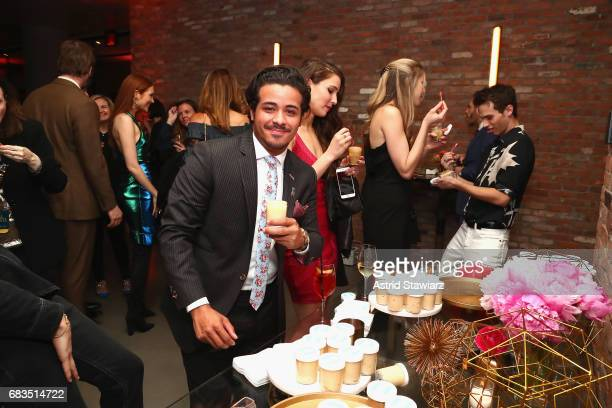 Christian Navarro of 13 Reasons Why attends the Entertainment Weekly and PEOPLE Upfronts party presented by Netflix and Terra Chips at Second Floor...