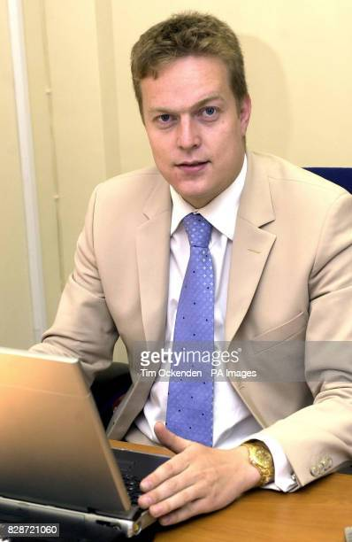 Christian Newman a wealthy Internet company boss sits in his office in Reading after being cleared in court of raping a woman at his father's mansion...