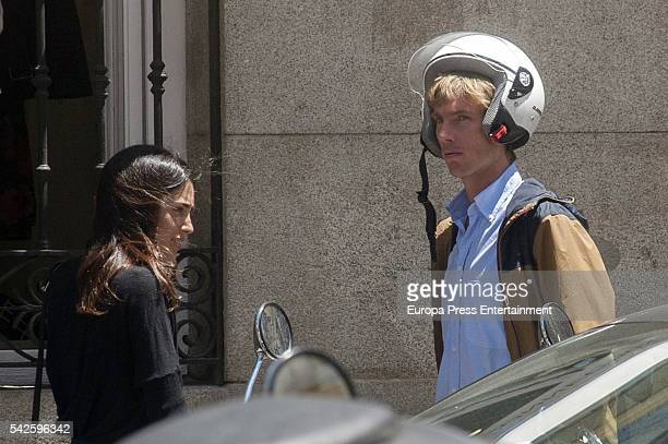 Christian of Hannover and Alessandra de Osma are seen on June 1 2016 in Madrid Spain