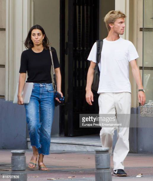 Christian of Hanover and Alessandra de Osma are seen on June 27 2017 in Madrid Spain
