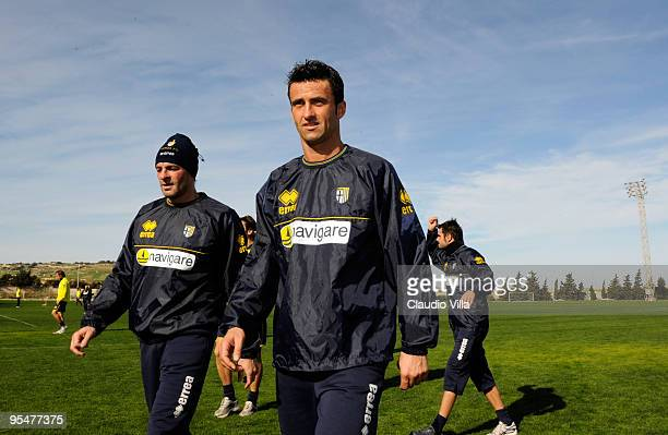Christian Panucci of FC Parma during the training session at Ta Qali Stadium on December 29 2009 in Malta Malta