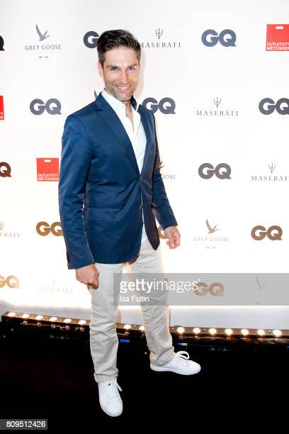 Christian Polanc attends the GQ Mension Style Party 2017 at Austernbank on July 5 2017 in Berlin Germany
