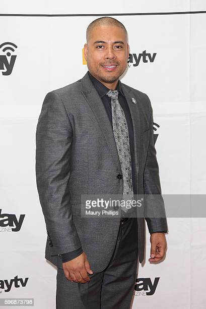 Christian Rosario arrives at eZWay August Issue Celebration on August 27 2016 in Mission Viejo California