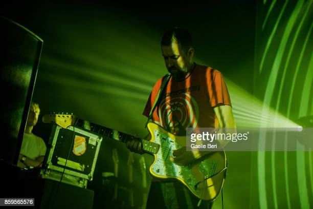 Christian Savill of Slowdive performs live at O2 ABC Glasgow on October 9 2017 in Glasgow Scotland